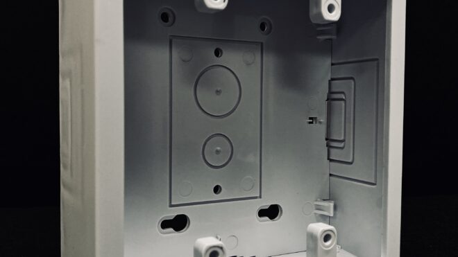 Double Base and Cover Junction Box