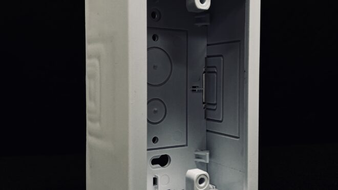 Single Base and Cover Junction Box
